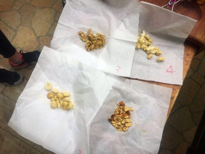効きナッツ?