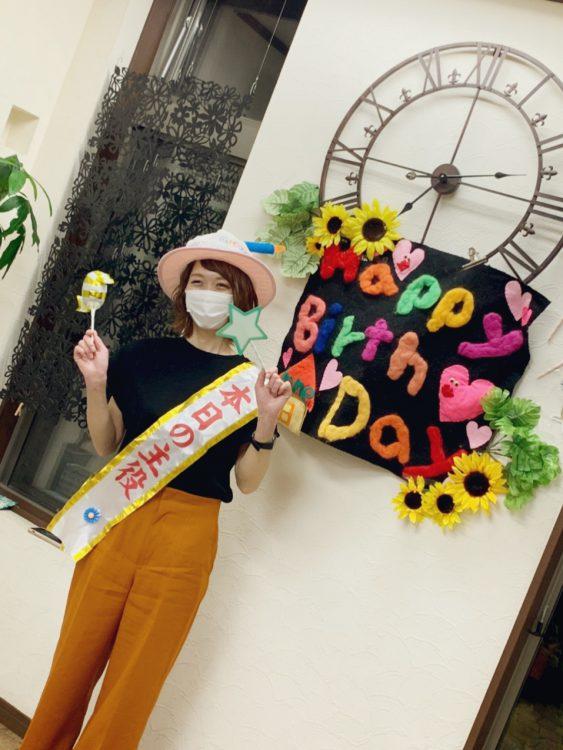 誕生日☺️✨